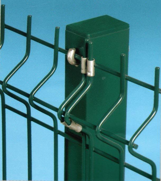 Kvadrātveida stabs 1,7M 60x40x1,3mm RAL6005 (zaļs)