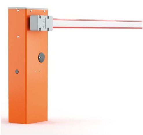 Paceļamā automātiskā barjera NICE WIDE-S garums līdz 4 metri