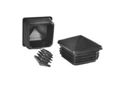 Plastmasas piramīdveida - vāciņi, cepurītes, korķi profilam 100x100mm