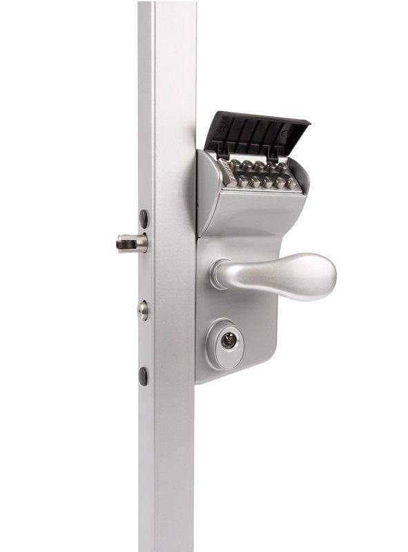 Mehāniskā kodu slēdzene LOCINOX, 80 mm