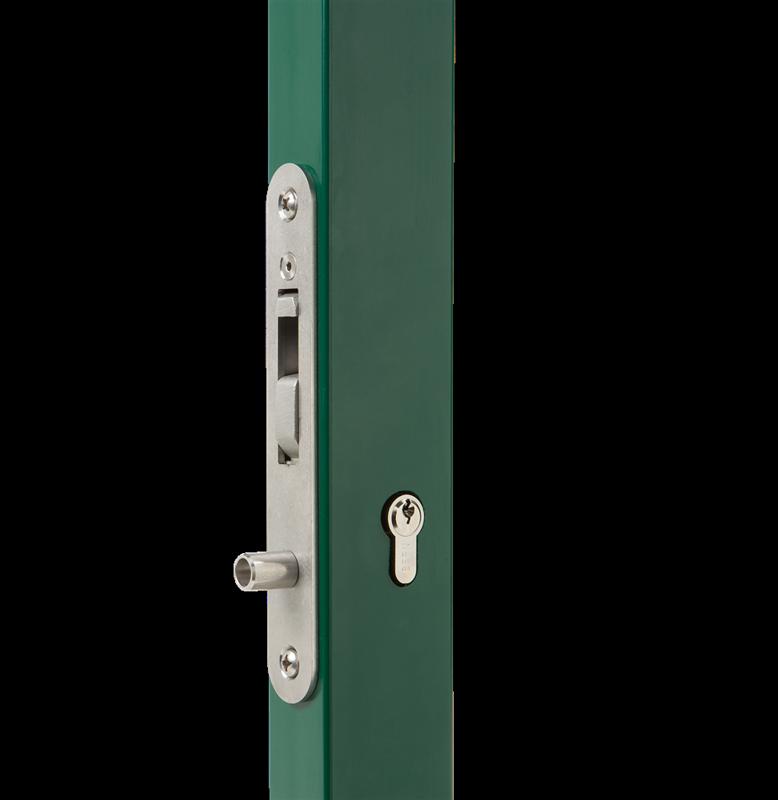 Iekaļamā slēdzene bez roktura LOCINOX