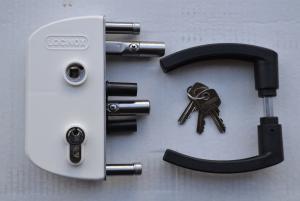 Dārza slēdzene LOCINOX,40mm