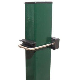 Kvadrātveida stabs 2,3M 60x40x1,3mm RAL6005 (zaļs)