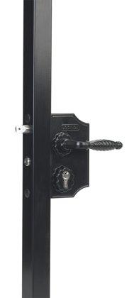 Lielā ornamentālā slēdzene 40-60mm