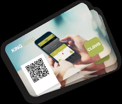 CLAVIS ACCESS koda karte