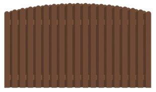 Koka sētas vairogs platums 2800mm augstums 1500mm