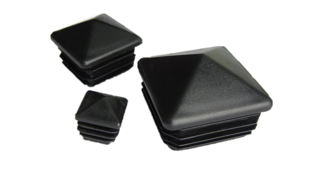 Plastmasas piramīdveida - vāciņi, cepurītes, korķi profilam 60x60mm
