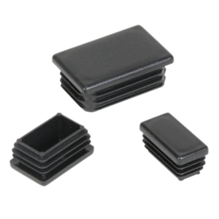 Plastmasas - vāciņi, cepurītes, korķi profilam 20x50mm