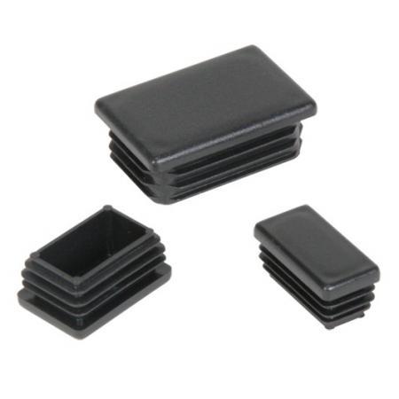 Plastmasas - vāciņi, cepurītes, korķi profilam 25x45mm